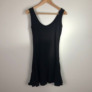 Michelle by Comune Kennedy Tank Top Dress - Black